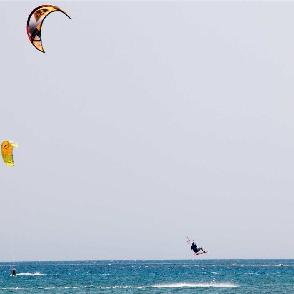 Kiting jump