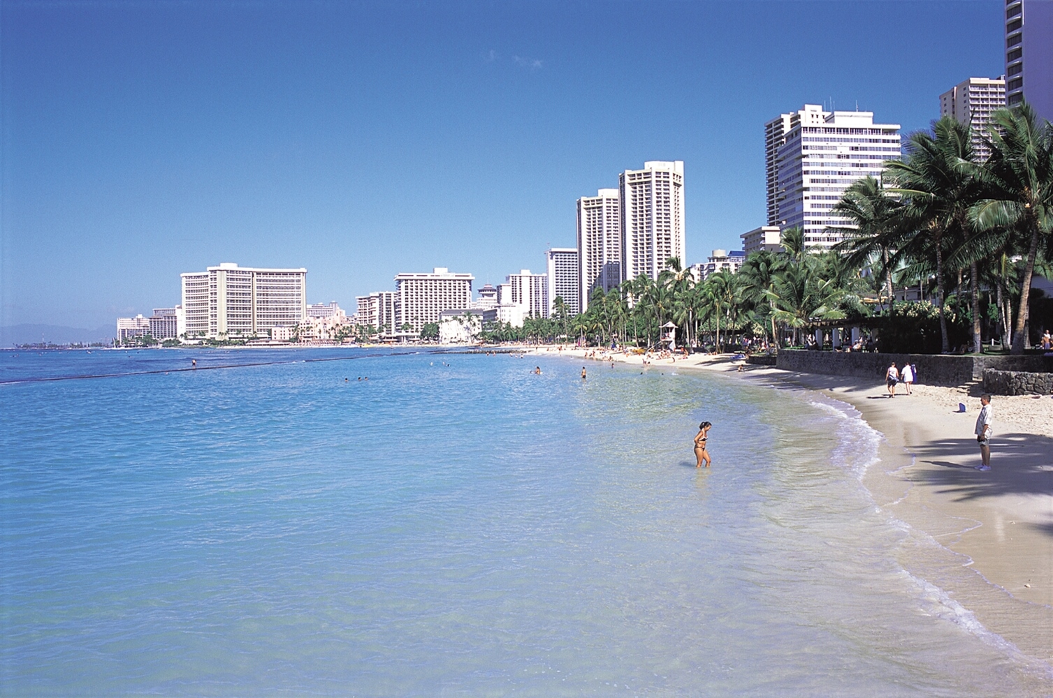 Beach Over Looking Waikiki
