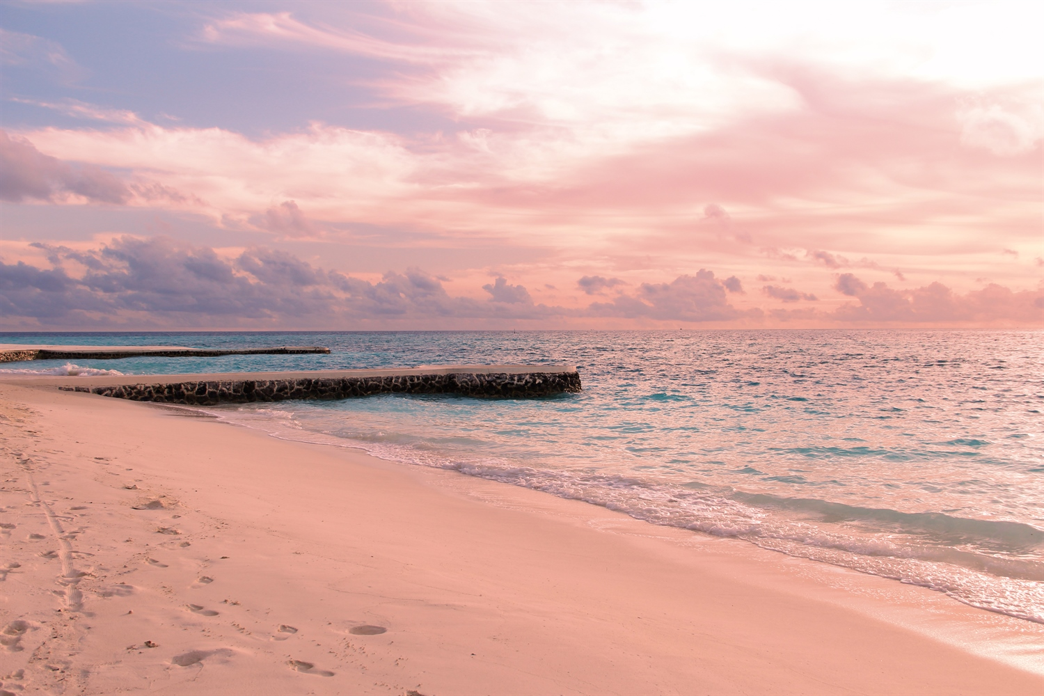 Beach In Male Atoll
