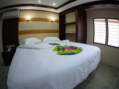 Main Deck Double / Twin Cabin