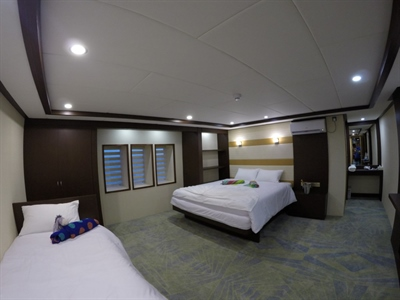 Lower Deck Double Stateroom