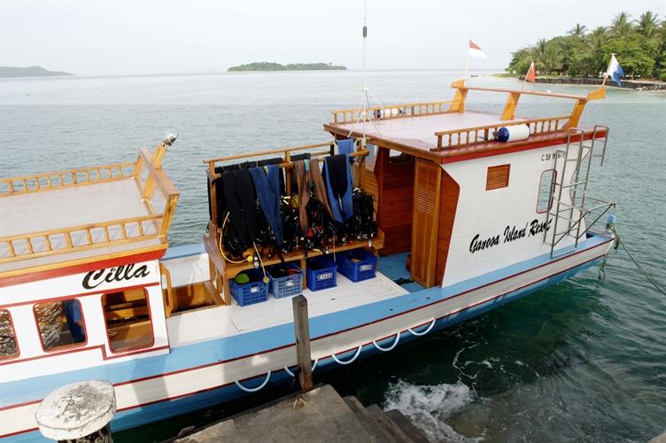 Cilla Boat on Gangga Island