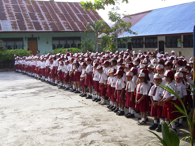 Kids in Local School