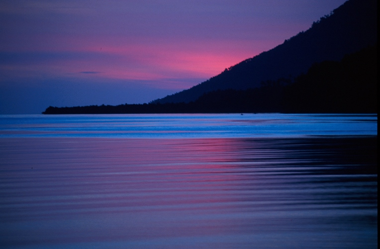 Siladen Island Sunset