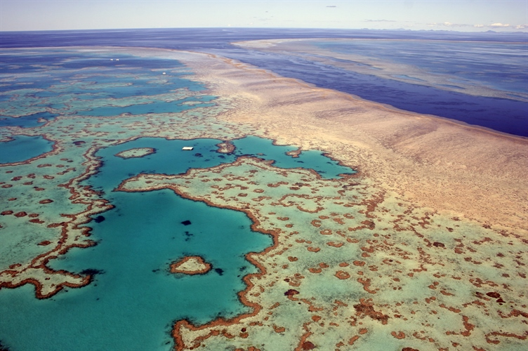 View of Barrier Reef