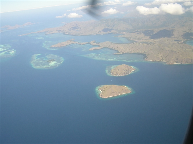 Arerial view of Bali Island