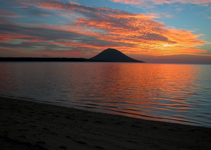 Sunset Over Bunaken Island