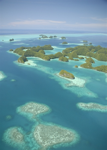 Palau Tropical Island