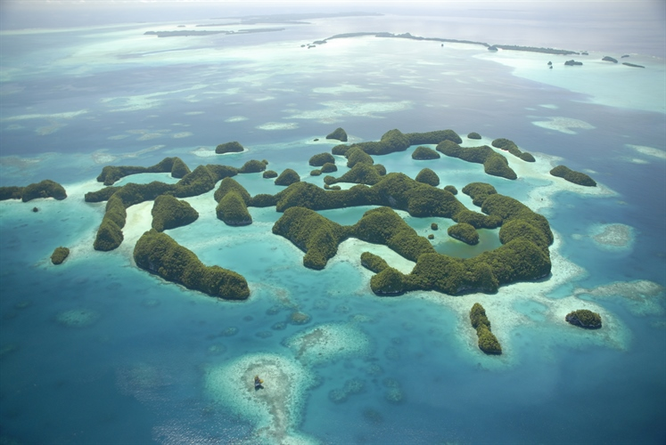 Palau Group of Tropical Islands