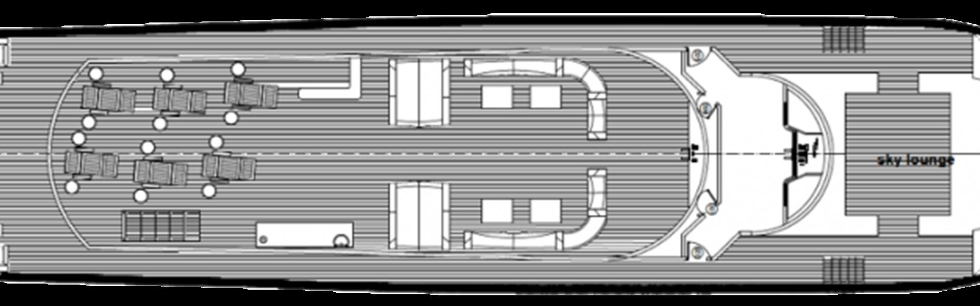 Skydeck deck plan