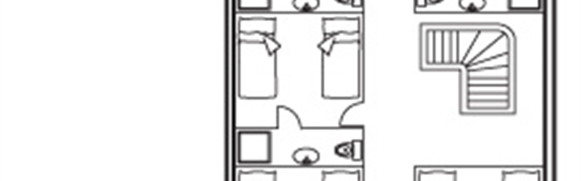 Cabin deck diagram