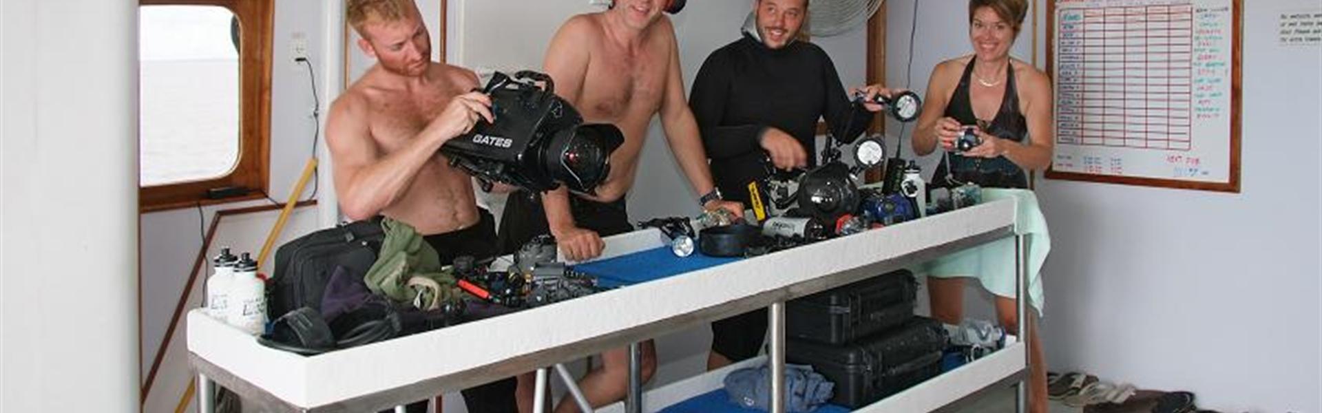 Camera table