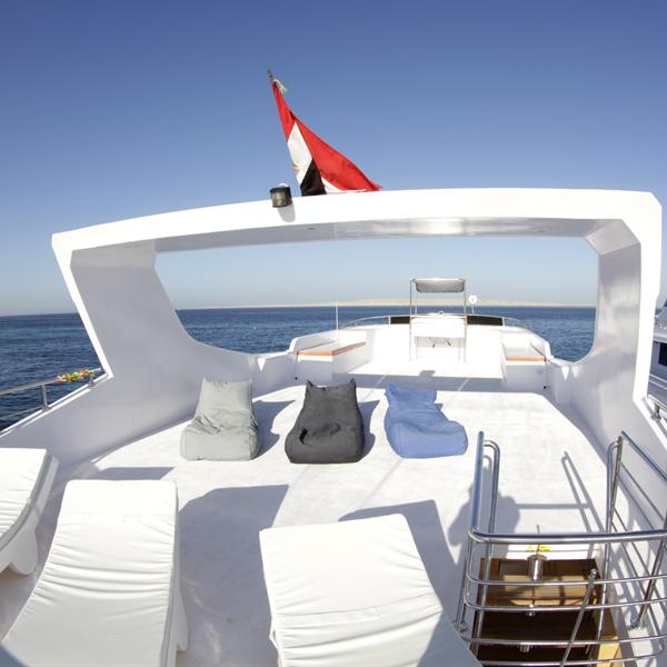Upper sun deck