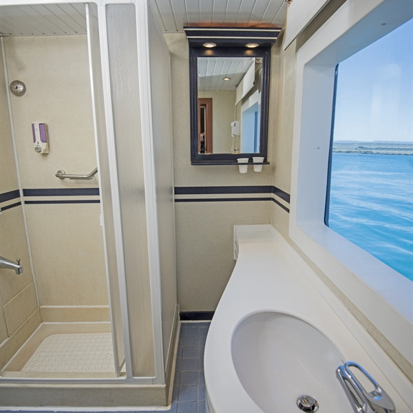 Main deck double cabin ensuite