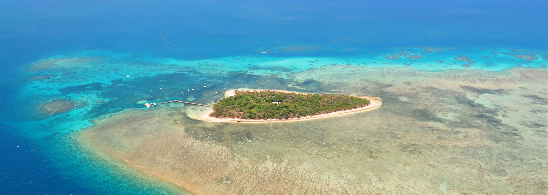 Small Island on Barrier Reef