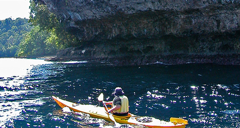 Sea Kayaking At Uepi