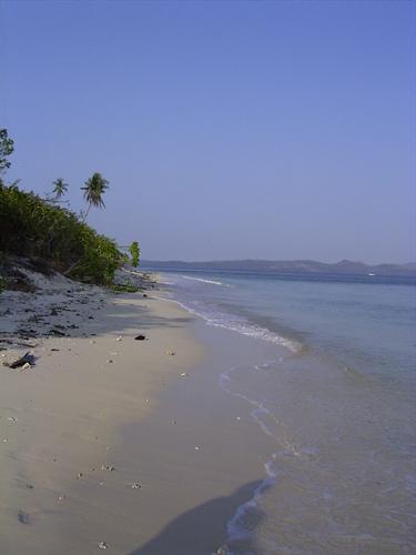 Gangga Island Beach