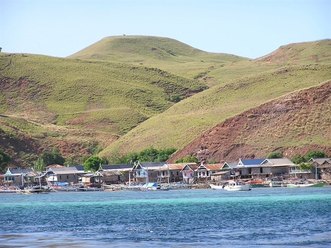 Komodo Fishing Village