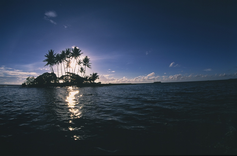 Little Island in Yap