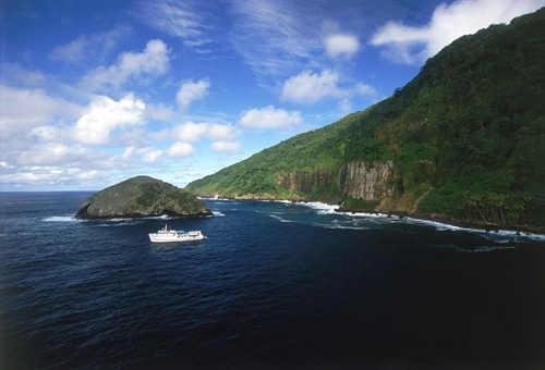 Boat  & Island