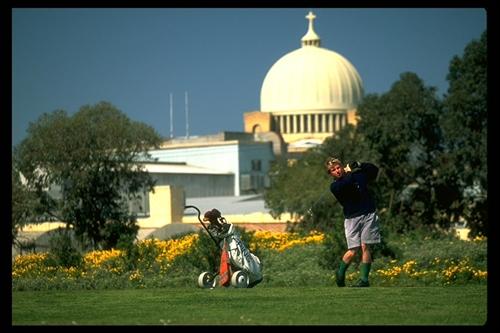 Men Paying Golf