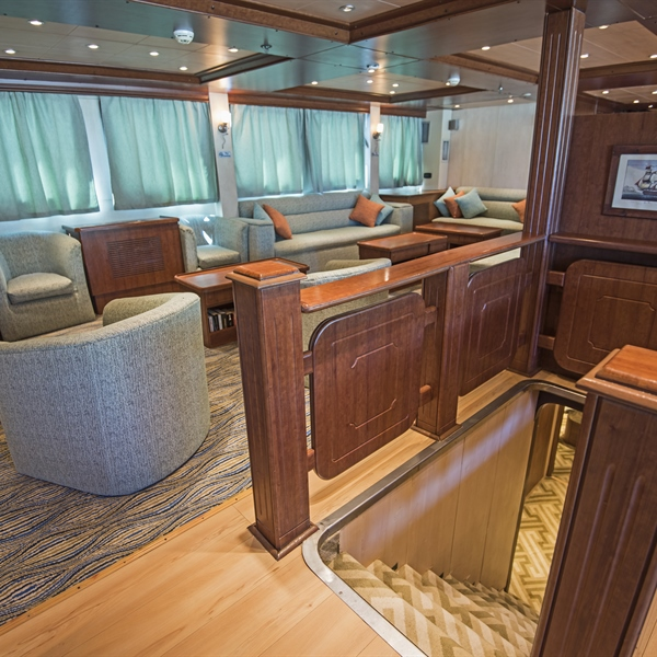 Lower Deck cabin entrance
