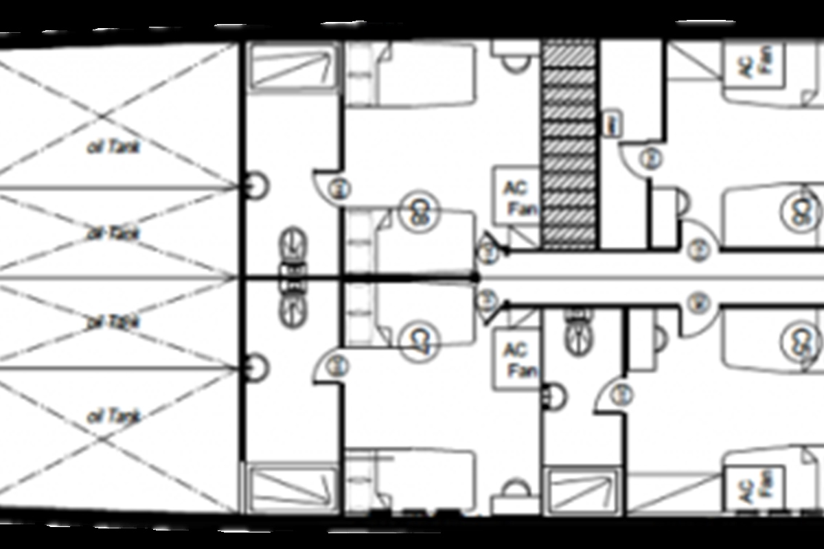 Lowerdeck deck plan
