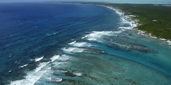 Ariel View Ocean
