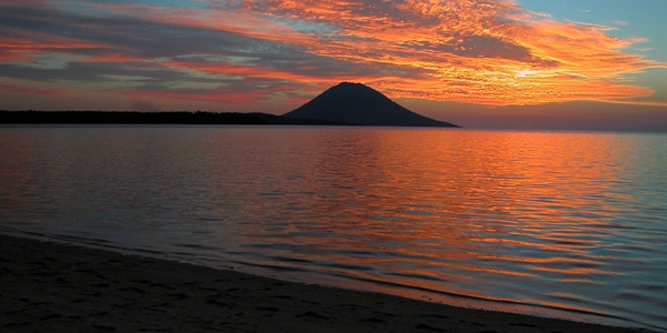 Sunset Over Bunaken Island