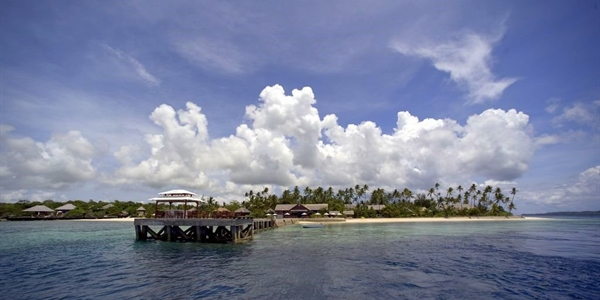 Resort From End of Jetty