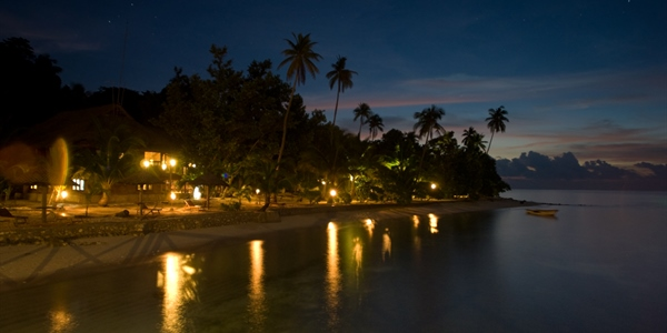 Wakatobi Beach at night