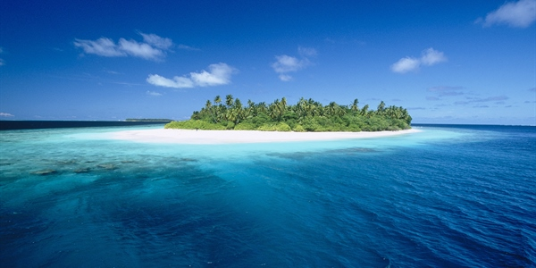 Island in Maldives