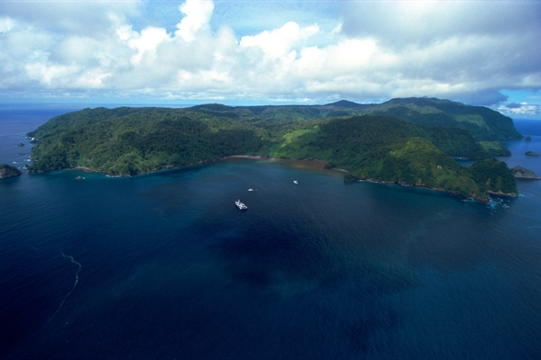 Costa Rica Island Arrial View