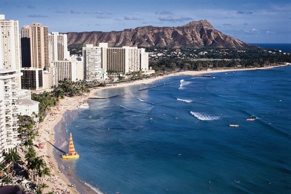 Waikiki in The Day