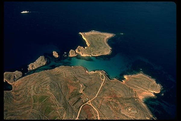 Gozo aerial view