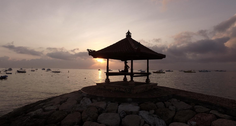 Sunrise over Mount Batur
