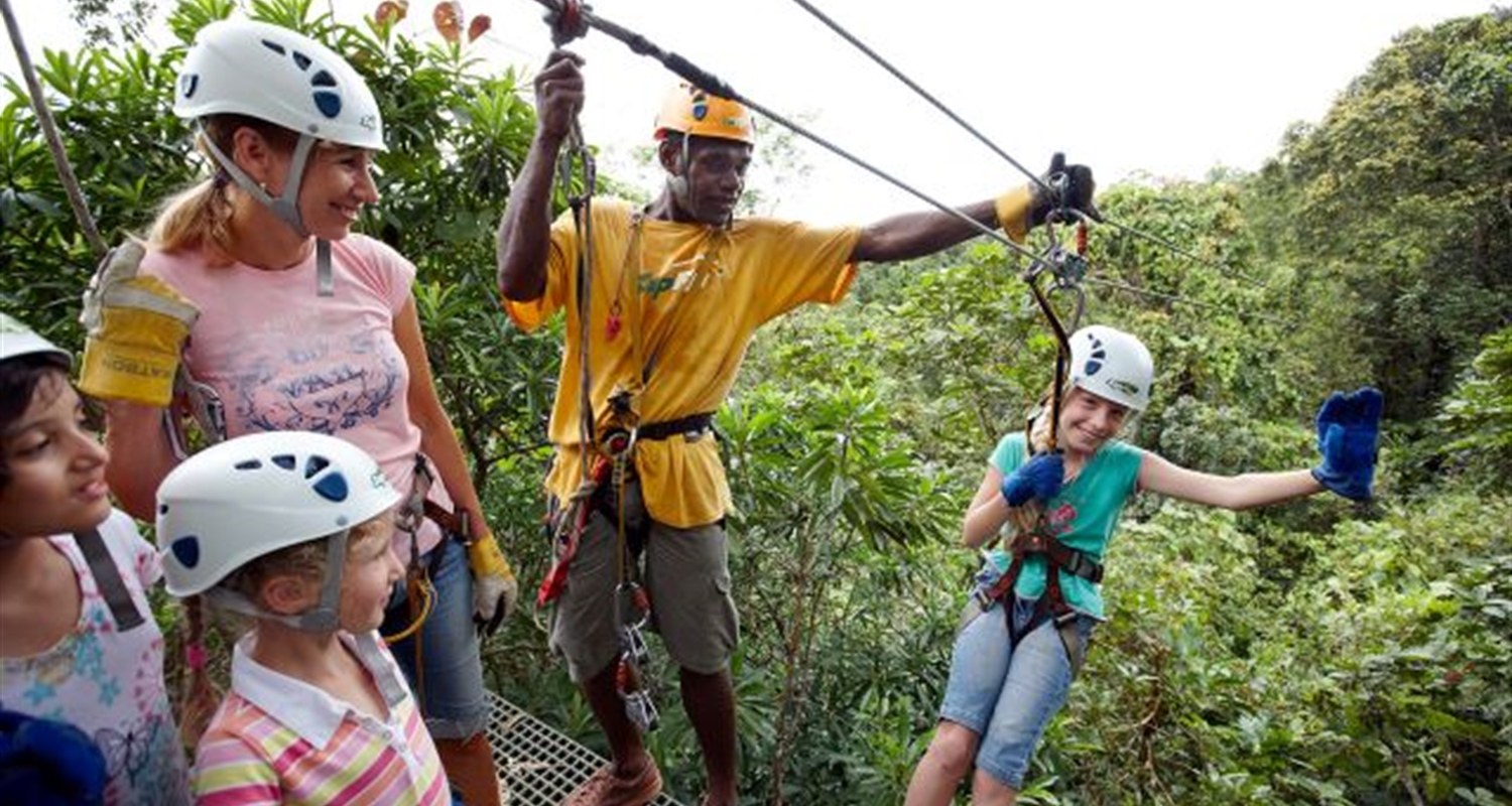 Zip Line Pacific Harbour